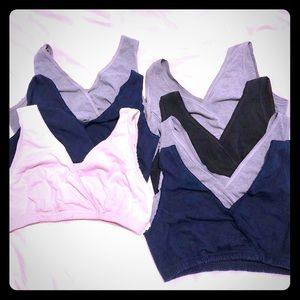 Tops - 7 nursing bras size M/L